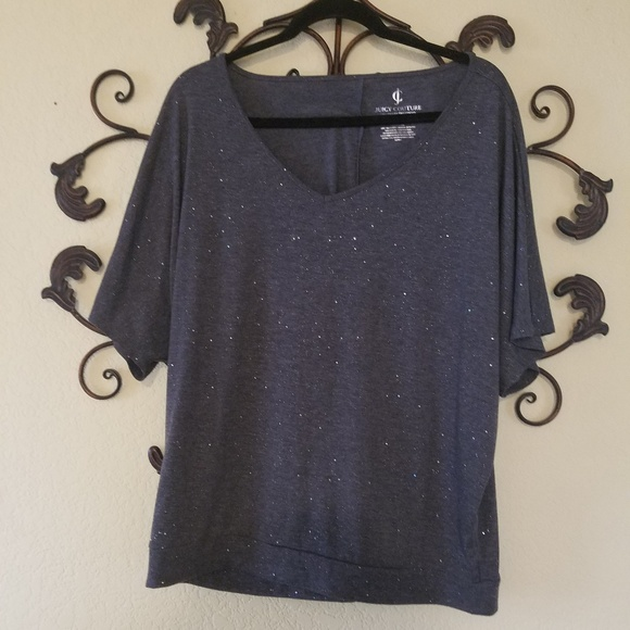 5b556b059f83 Juicy Couture Tops - JUICY COUTURE Sparkle Tee